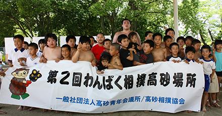 2014年わんぱく相撲イメージ1